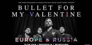 Bullet for My Valentine Official Event, Progresja, 12.04.2019