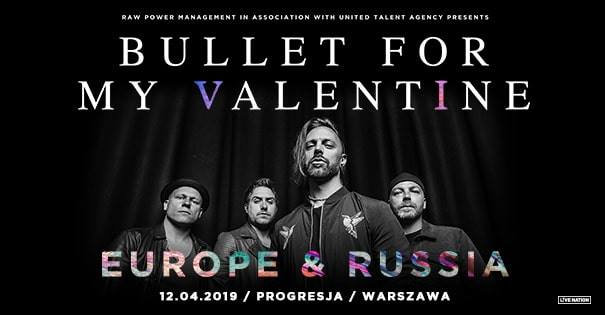 Bullet for My Valentine Official Event, Progresja, 12.04.2019